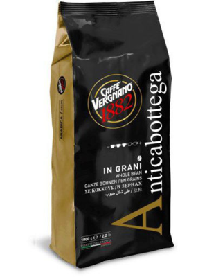 Кофе в зернах VERGNANO Antica Bottega 100% arabica, 1 кг